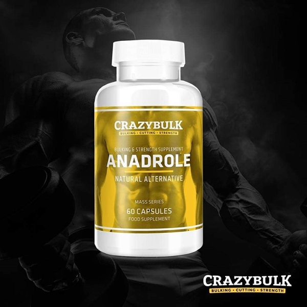 CrazyBulk Anadrole Comentarios: Aumente la masa muscular y la fuerza rápidamente