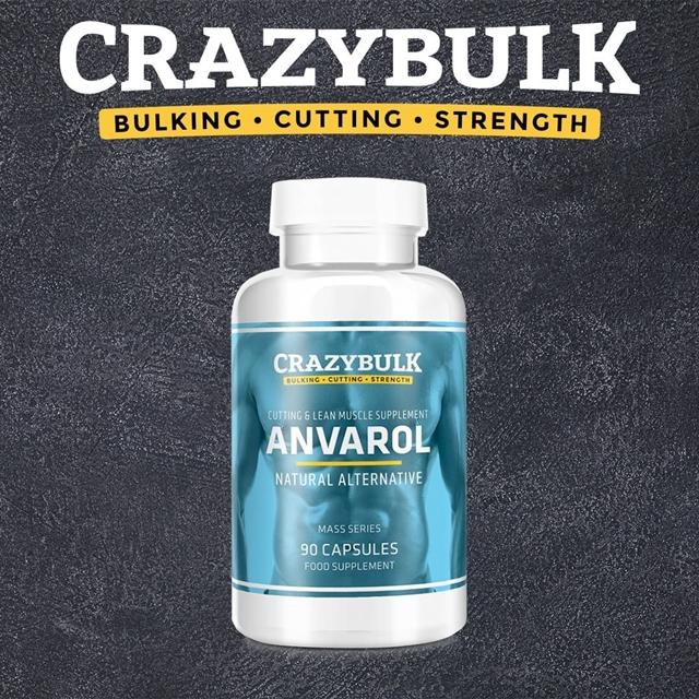CrazyBulk Anvarol Recenzje: Zwiększenie mięśni podczas spalania tłuszczu